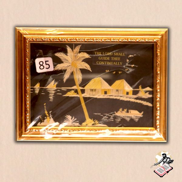 BOOKSHOP – GIFT ITEMS – HAND MADE GOLD FRAME – 01